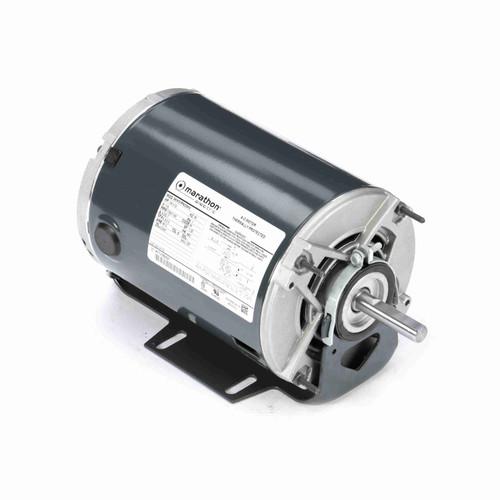 Marathon H172 1/4 HP 1725/1140 RPM 115 Volts Belt Drive Fan and Blower Motor