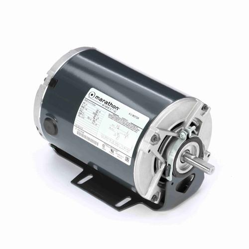 Marathon H112 1/6 HP 1140 RPM 115 Volts Belt Drive Fan and Blower Motor
