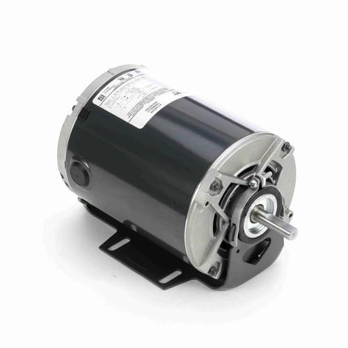 Marathon 4389 1/6 HP 1725/1140 RPM 115 Volts Belt Drive Fan and Blower Motor