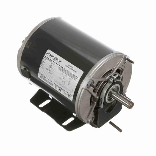 Marathon HG155 1/8 HP 850 RPM 115 Volts Belt Drive Fan and Blower Motor