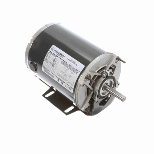 Marathon HG154 1/8 HP 1140 RPM 115 Volts Belt Drive Fan and Blower Motor