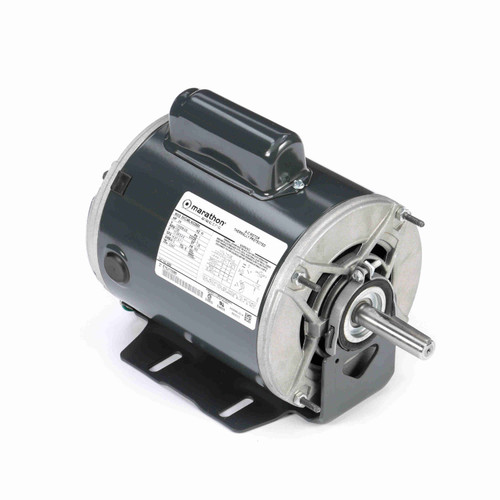 Marathon 4686 3/4 HP 1725 RPM 115/208-230 Volts Belt Drive Fan and Blower Motor