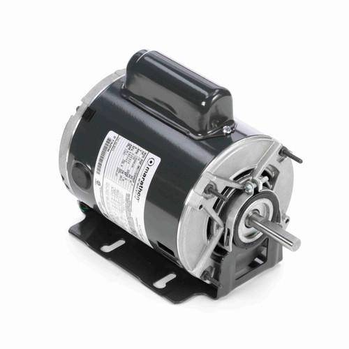 Marathon B313 1/4 HP 1725 RPM 115/208-230 Volts Belt Drive Fan and Blower Motor