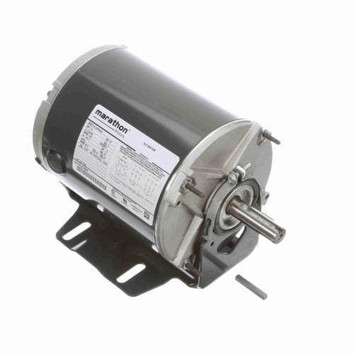 Marathon K282 1/4 HP 1140 RPM 230/460 Volts Belt Drive Fan and Blower Motor