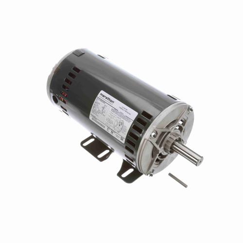 Marathon K1497 3 HP 1725 RPM 208-230/460 Volts Belt Drive Fan and Blower Motor