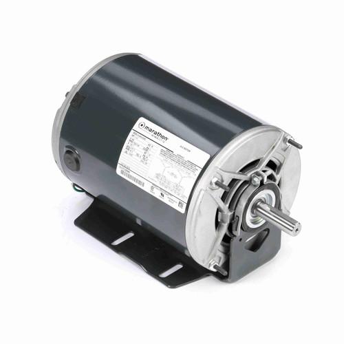 Marathon K519 1 HP 1725/1140 RPM 460 Volts Belt Drive Fan and Blower Motor