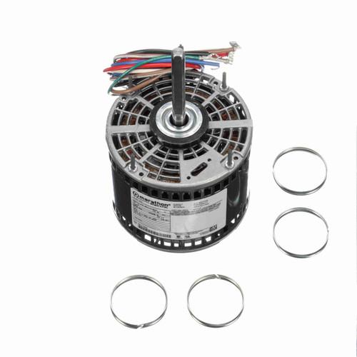 Marathon X019 1/3 HP 1075 RPM 277 Volts Direct Drive Fan and Blower Motor