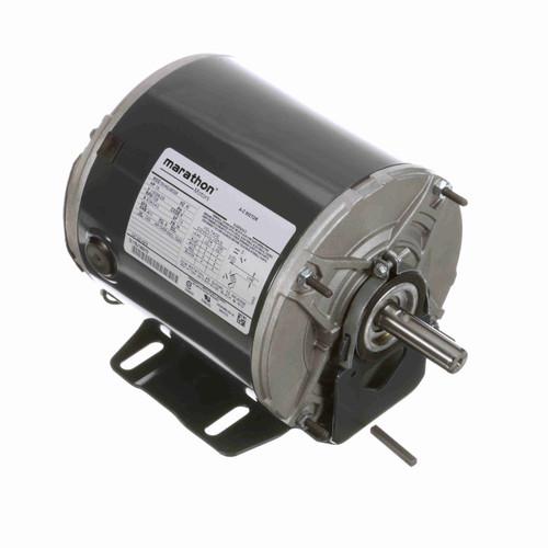 Marathon H276 1/2 HP 1725 RPM 115/208-230 Volts Farm Duty Motor