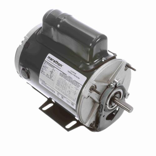Marathon HG648 1/3 HP 1725 RPM 115/208-230 Volts Farm Duty Motor