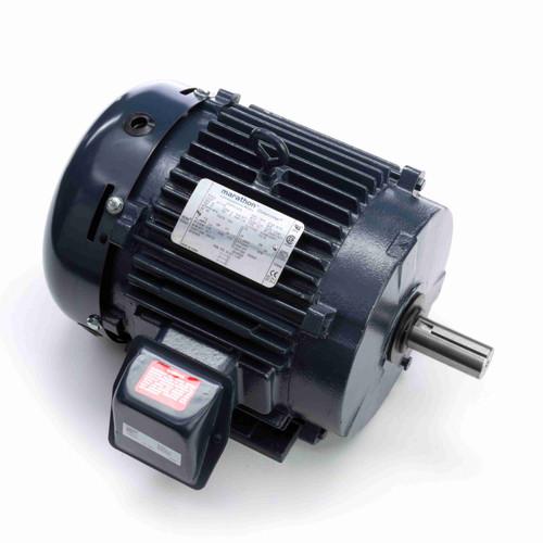 Marathon L412A 5 HP 875 RPM 230/460 Volts General Purpose Motor