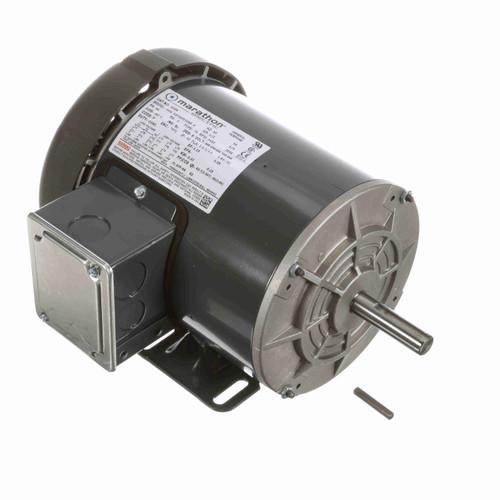 Marathon G308 1/2 HP 3600 RPM 208-230/460 Volts General Purpose Motor