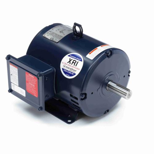 Marathon U426B 3 HP 1800 RPM 230/460 Volts General Purpose Motor
