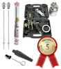 """Apollo - 5-Stage Precision 5 Pro LE; 120 volt motor, with internal bleed, Includes 32"""" Air Flex Hose, A7700QT Spray Gun & Accessories (PRECISION5PROLE)"""