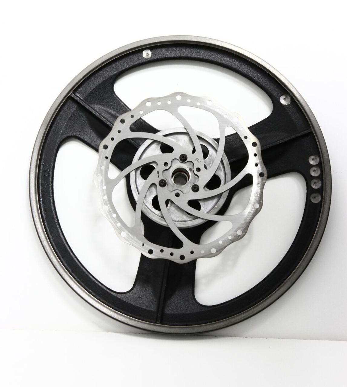 Lower Wheel & Safety Brake