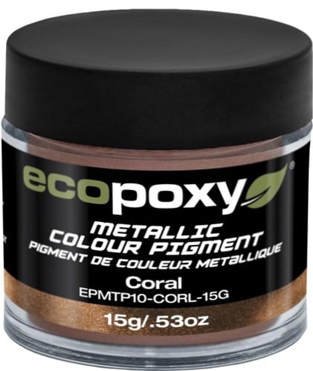 EcoPoxy - 15g Metallic ColorPigment - Coral (628199906066)