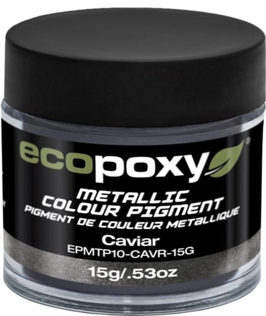 EcoPoxy - 45g Metallic ColorPigment - Caviar (628199907100)