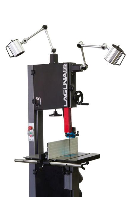Laguna - 14|12 & 14|bx Pro Light Dual Arm 110V - Also fits the REVO Lathes (640213052320)