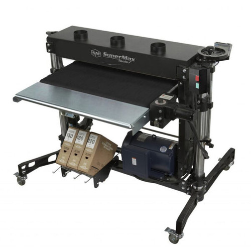 Laguna SuperMax 37 X 2 Double Drum Sander - 5 hp - 208-230V, 60HZ; 1 Ph, 30 amp service (SUPMX937003)