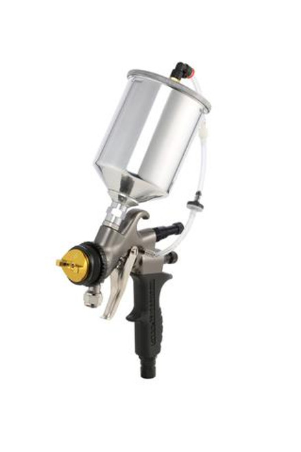 Apollo - 5-stage POWER 5 VS; 110 volt motor with 32' air flex hose and A7700GT-1000 spray gun and  A7536A 1,000cc Gravity Feed cup (5VS1107700GTSTD)