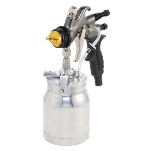 Apollo - 5-stage POWER 5 VS; 110 volt motor with 32' air flex hose and A7700QT spray gun and an A5251-NT Siphon Feed cup (5VS1107700QT1)