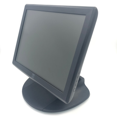 """ELO ET1515L 15"""" TOUCHSCREEN USB/SERIAL POS LCD MONITOR WITH BASE & CABLES"""
