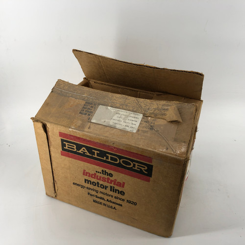 BALDOR L3401 SINGLE PHASE .17 HP 1140 RPM INDUSTRIAL MOTOR - NEW