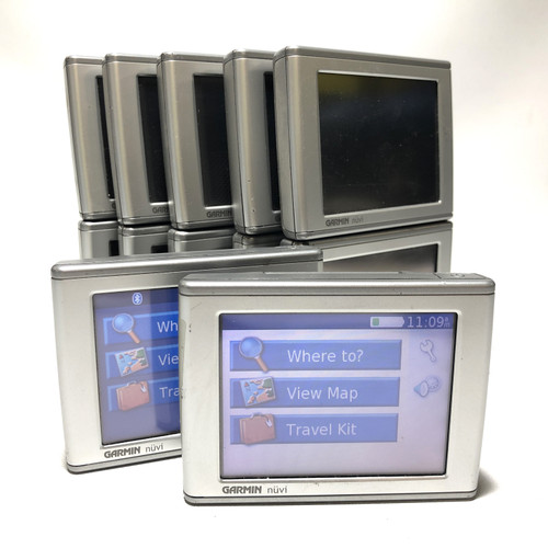 "LOT OF 12 - GARMIN NUVI 360 NA NORTH AMERICA GPS NAVIGATION 3.5"" TOUCHSCREEN"