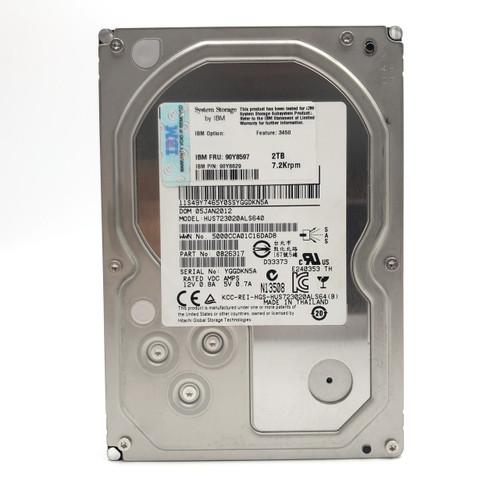 """HITACHI HUS723020ALS640 2TB 3.5"""" SAS 7200RPM 6GBs 64MB"""