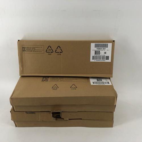 LOT OF 5 - HP 700847-001 KUS1206 SMARTCARD CCID WIRED USB KEYBOARD