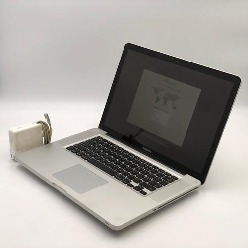 APPLE MACBOOK PRO 2011 MC721LL/A - CORE I7 2ND GEN, 4GB RAM, 500GB HDD - READ