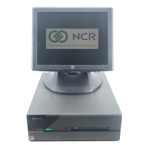 """NCR REALPOS 82XRT + ELO ET1515L 15"""" MONITOR RETAIL POS TERMINAL"""