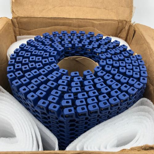 INTRALOX 2400 14 FT X 14 IN BLUE RADIUS CONVEYOR CHAIN  - NEW OPEN BOX