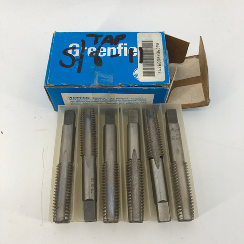 GREENFIELD 5/8-11 NC BOX OF TAP AND DIE BITS - NEW OPEN BOX