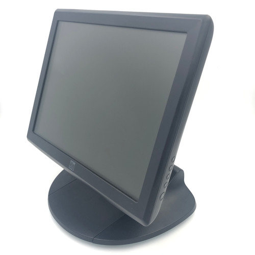 "ELO ET1515L 15"" TOUCHSCREEN USB/SERIAL POS LCD MONITOR WITH BASE & CABLES"