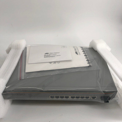 CENTRECOM FS709FC 8 PORT UNMANAGED ETHERNET SWITCH - NEW