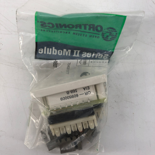 LOT OF 21 - ORTRONICS OR-60950009 PCB MODULE; CAT 5 CONNECTOR - NEW