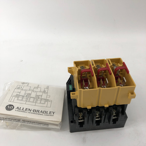 ALLEN BRADLEY 194R-NC030P3 SERIES B FUSED DISCONNECT SWITCH - NEW