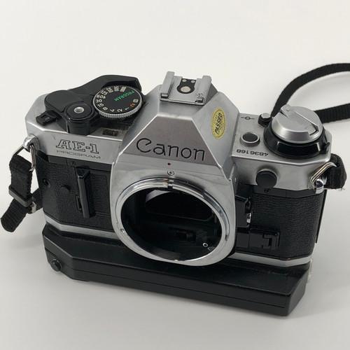CANON AE-1 W/POWER WINDER A2 N/A FILM CAMERA