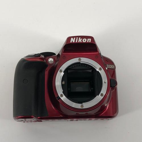 NIKON RED D3300 6000X4000 DIGITAL CAMERA