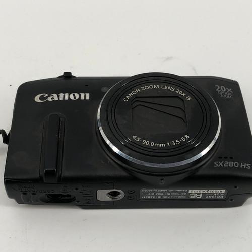 CANON POWERSHOT SX280 HS PC1967 12.1 MP DIGITAL CAMERA