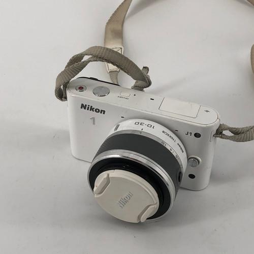 NIKON NIKON 1 J1 - WHITE D33697 10 MP DIGITAL CAMERA