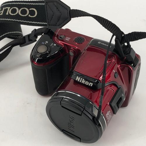 NIKON COOLPIX L810 - RED L810 16 MP DIGITAL CAMERA