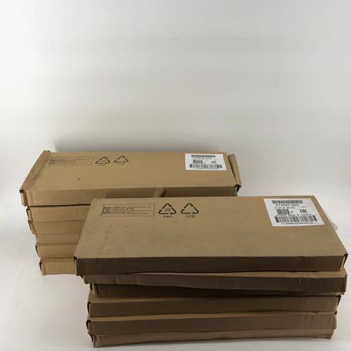LOT OF 12 - HP 672647-003 KU-1156 BLACK USB WIRED KEYBOARD - NEW