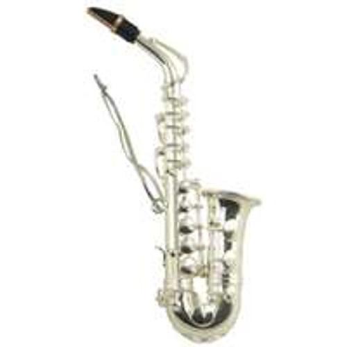 """AIM Ornament Saxophone Silver 4.5"""""""
