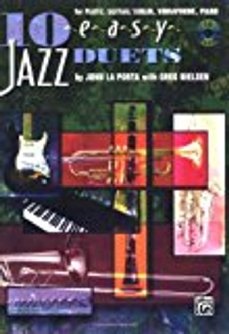 10 Easy Jazz Duets - 00-SB295CD