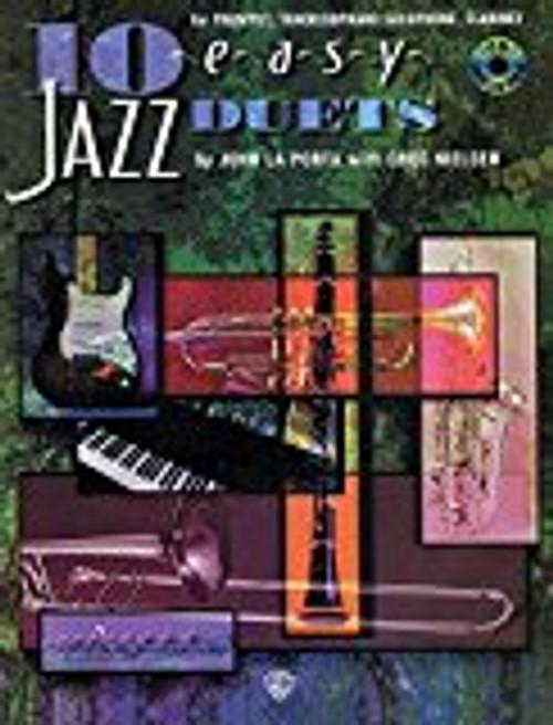 10 Easy Jazz Duets - 00-SB297CD