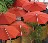 "Shademaker Orion 11' 6"" Octagonal Cantilever Umbrella"