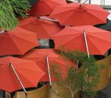 "Shademaker Orion 13' 1"" Octagonal Cantilever Umbrella"