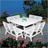 "Portsmouth 56"" Square Dining Table - EnviroWood"