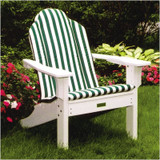 Seaside Casual Shellback Adirondack Chair Cushion